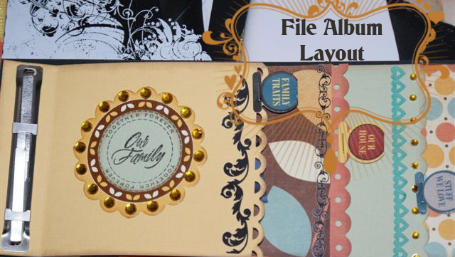 File ALbum layout